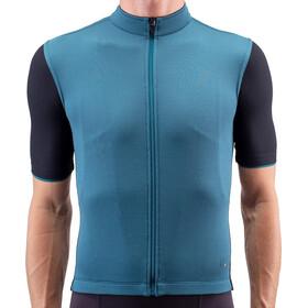 Isadore Signature Cycling 2.0 Maglia Jersey A Maniche Corte Uomo, blue/black